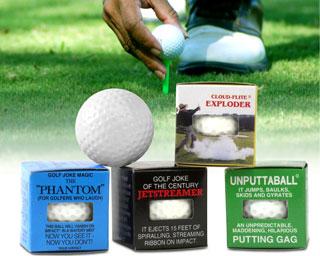 Galna Golfbollar