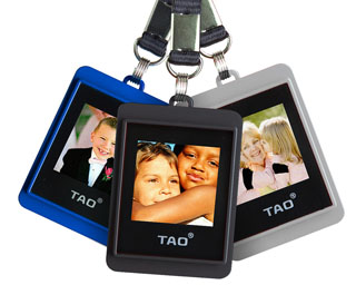 Tao Photo Keychain