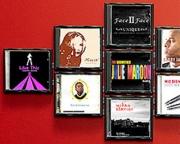Väggfäste för CD-skivor
