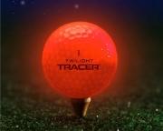 Lysande Golfboll